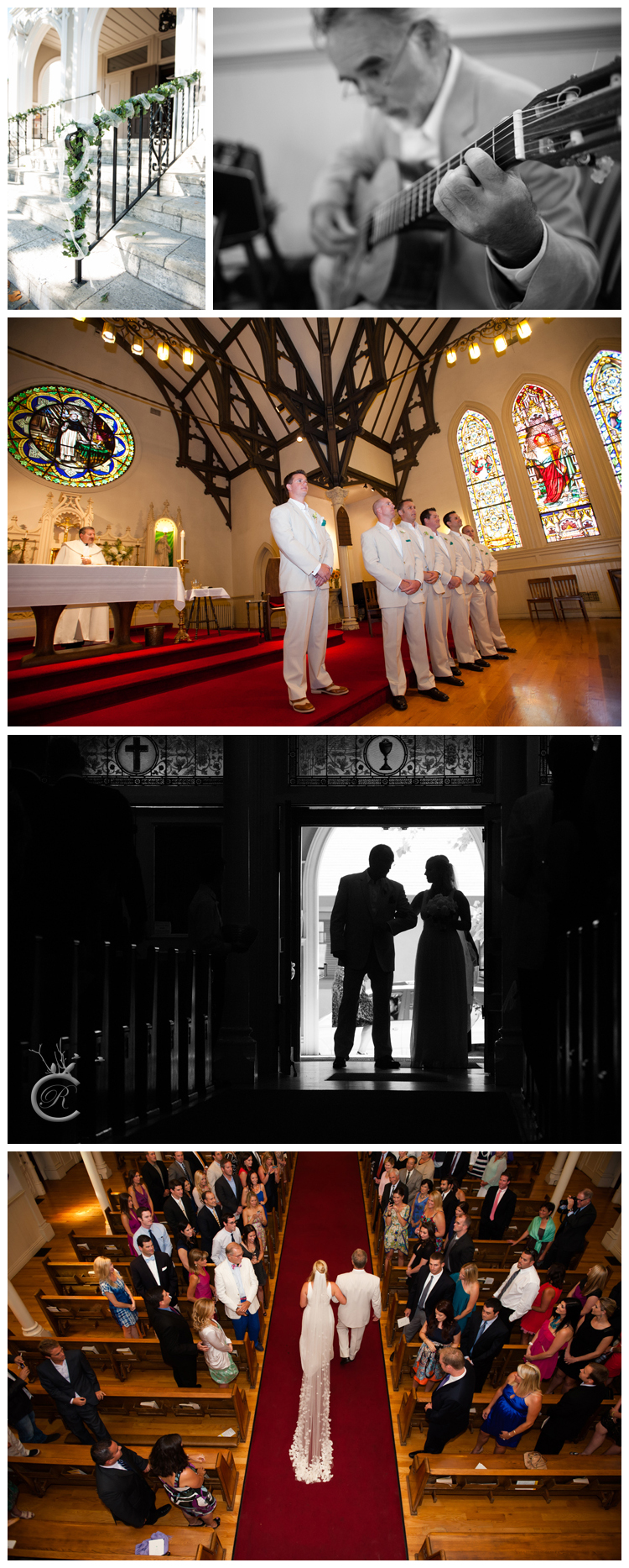 St. Thomas Aquinas Church Wedding • Carrie Richards Photography
