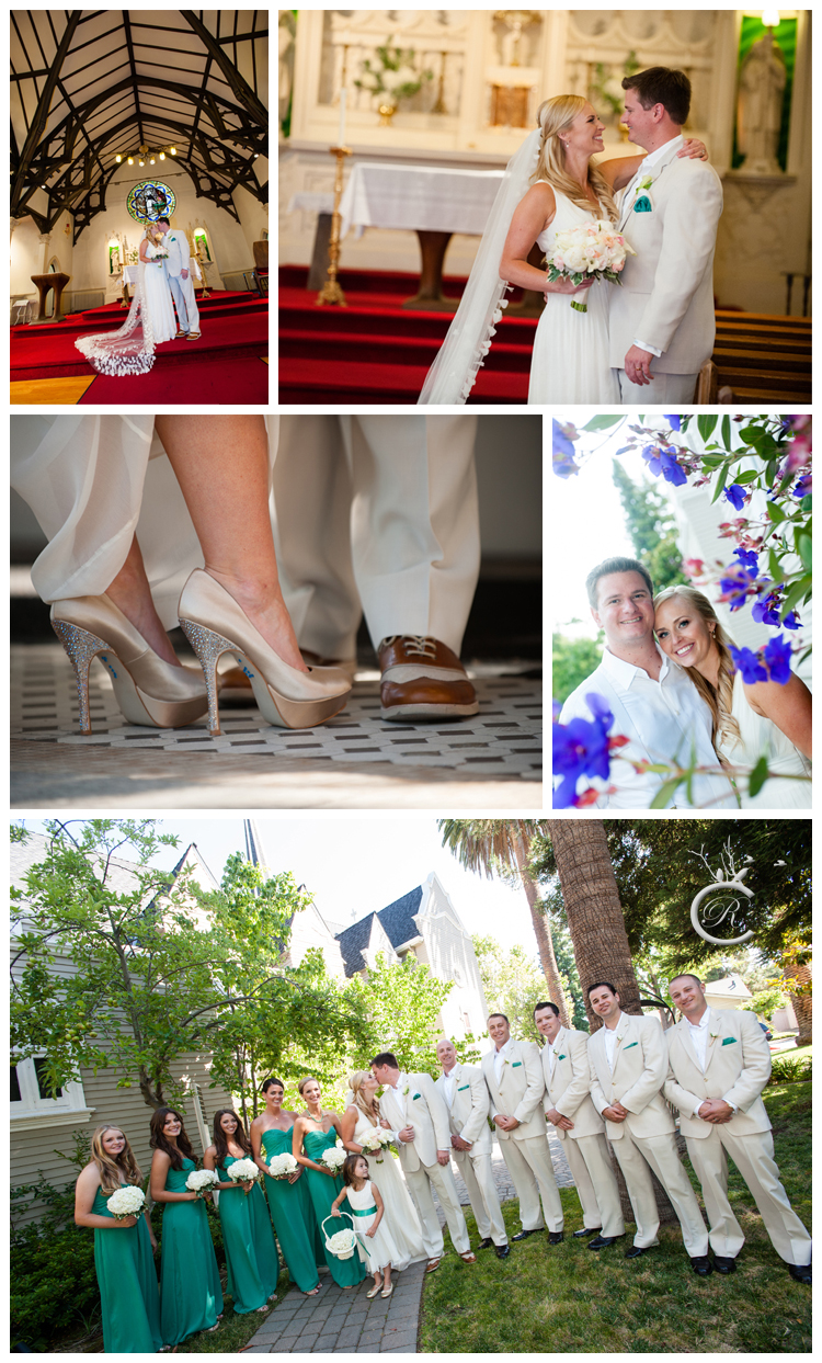 Wedding at St. Thomas Aquinas Church • Carrie Richards Photography