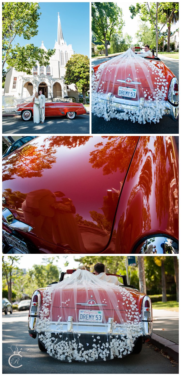 Wedding Classic Car • Carrie Richards Photography