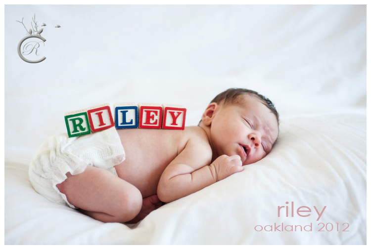 Riley and Toy Blocks • Carrie Richards Photography