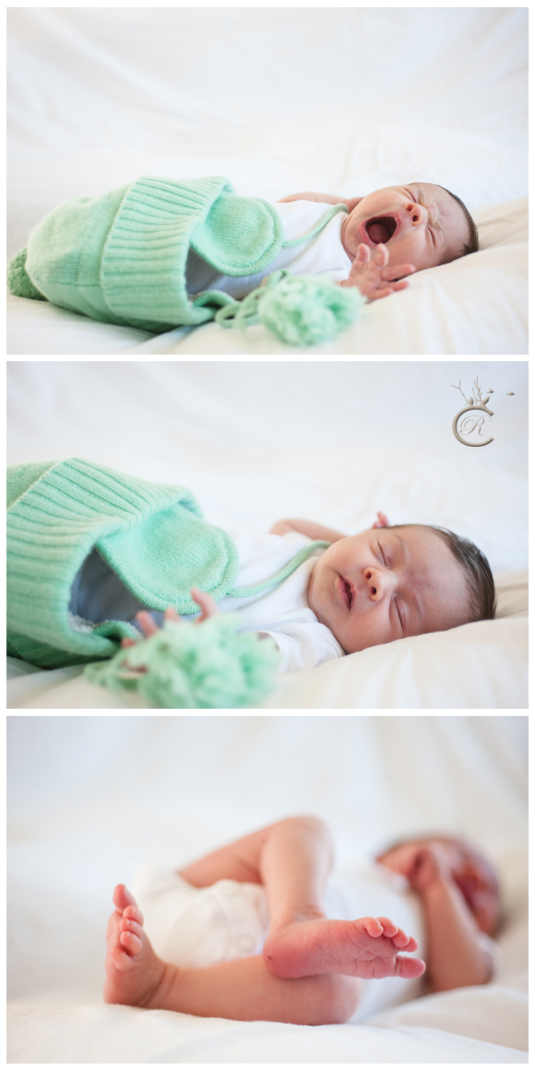 Yawning Baby • Carrie Richards Photography