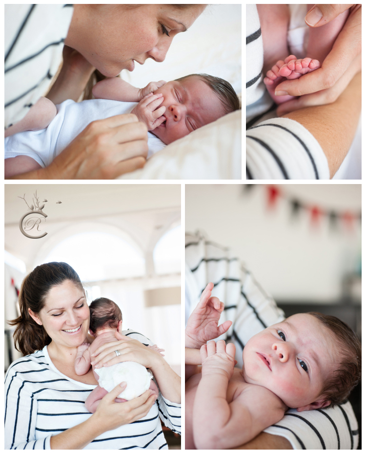 Baby and Mom • Carrie Richards Photography