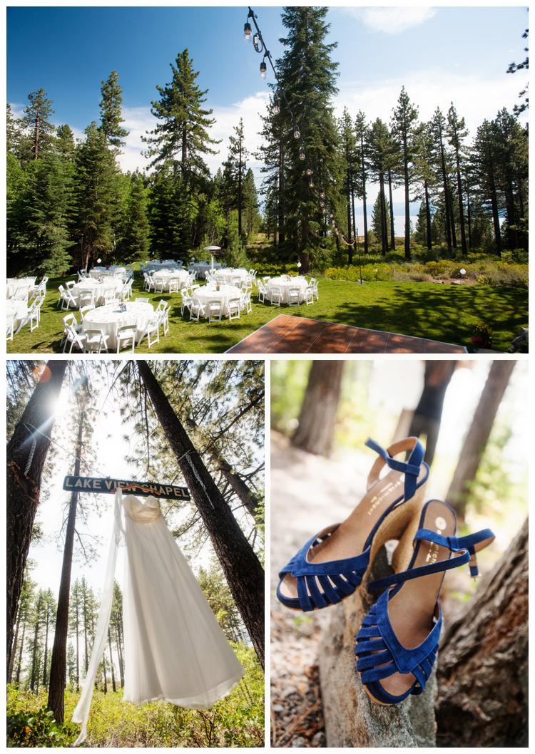 Wedding Details at Bristlecone Lakehouse