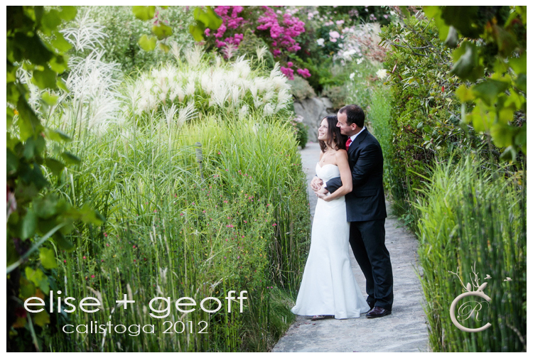 Elise + Geoff's Wedding at Hans Fahden Winery in Calistoga