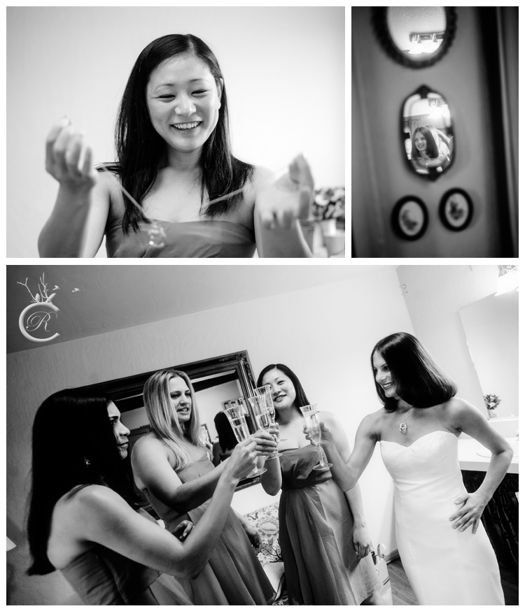 Bride getting ready • Carrie Richard Photography