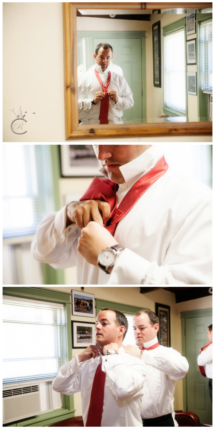 Groom getting ready • Carrie Richards Photography