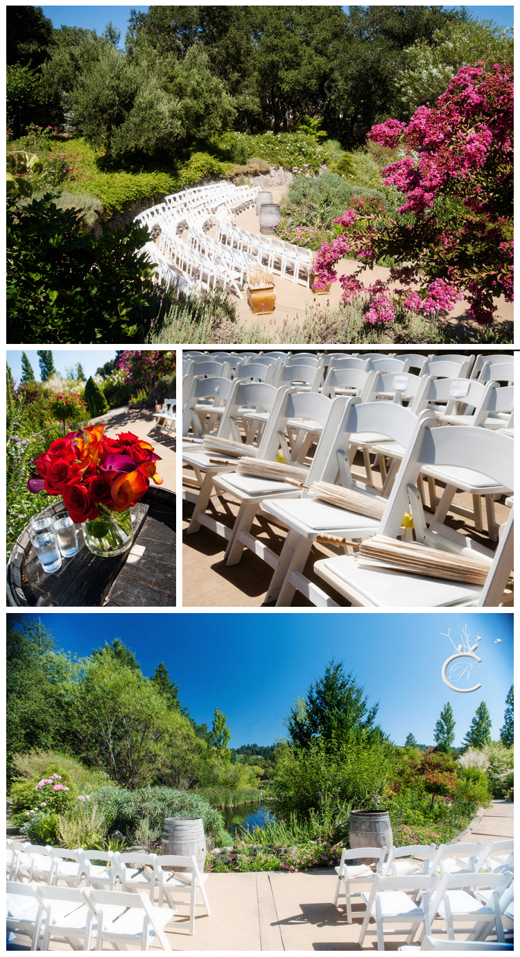 Hans Fahden Winery ceremony details • Carrie Richards Photography
