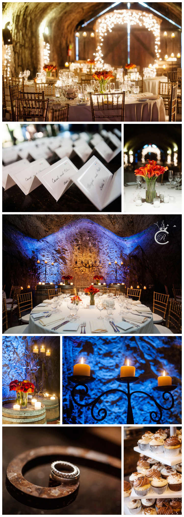 Wine cave wedding • Carrie Richards Photography