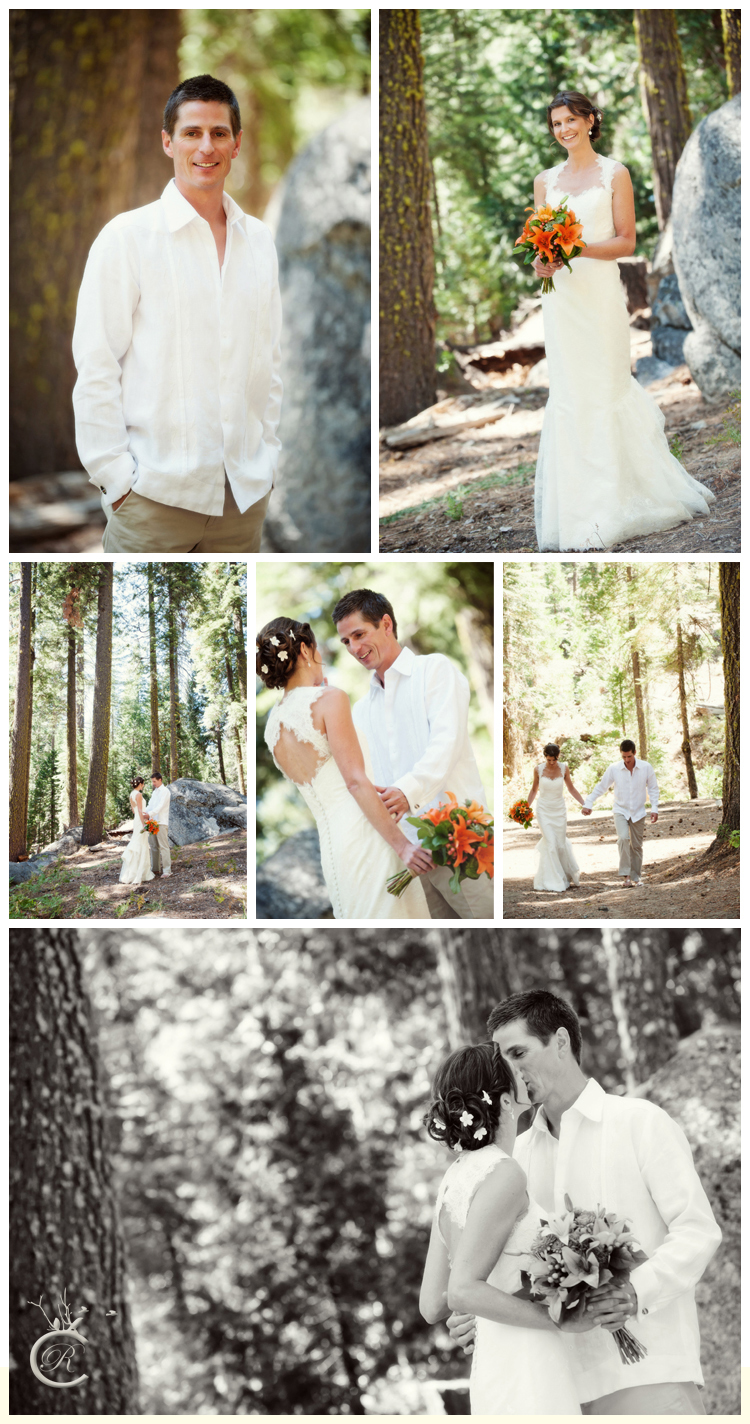 Couple's first look | Carrie Richards Photography