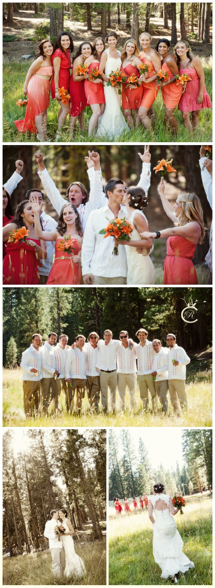Fun bridal party portraits in Pinecrest | Carrie Richards Photography