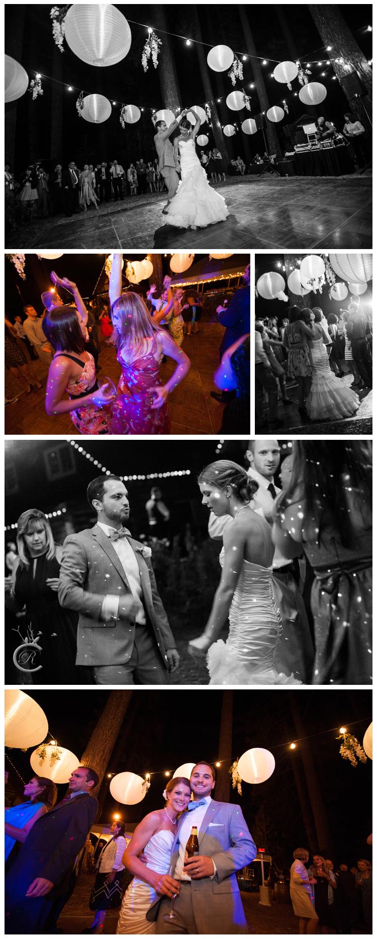 Dance under lanterns