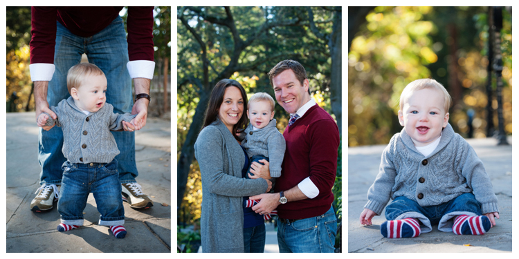 Family portrait triptych • Carrie Richards Photography