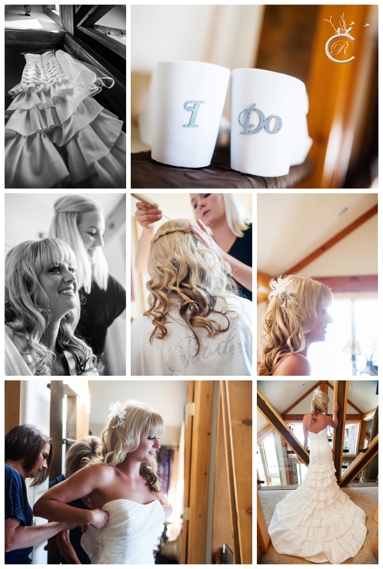 Bride getting ready details