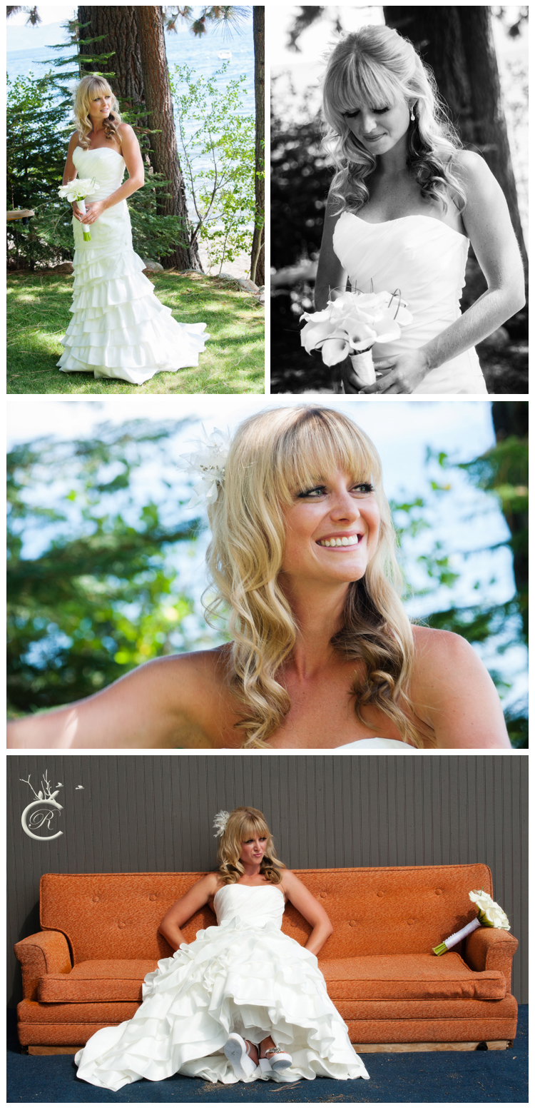 Tahoe Bridal Portraits