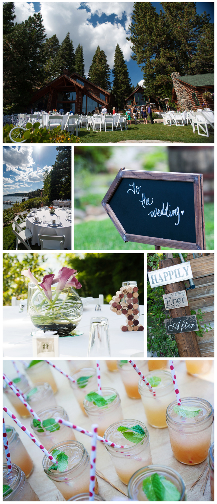 Wedding Details in Tahoe