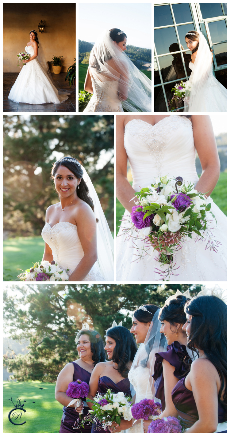 Bridal Portraits in Carmel Valley