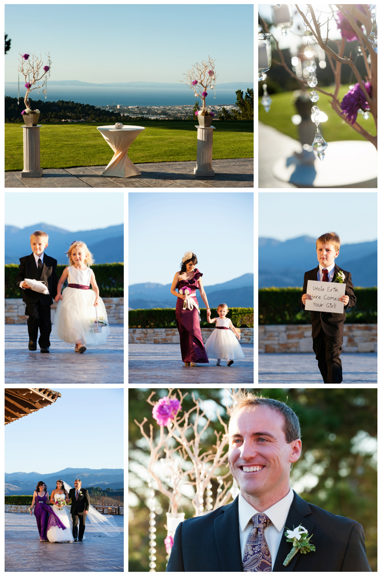 Tehama Golf Club: What a gorgeous setting for an outdoor ceremony