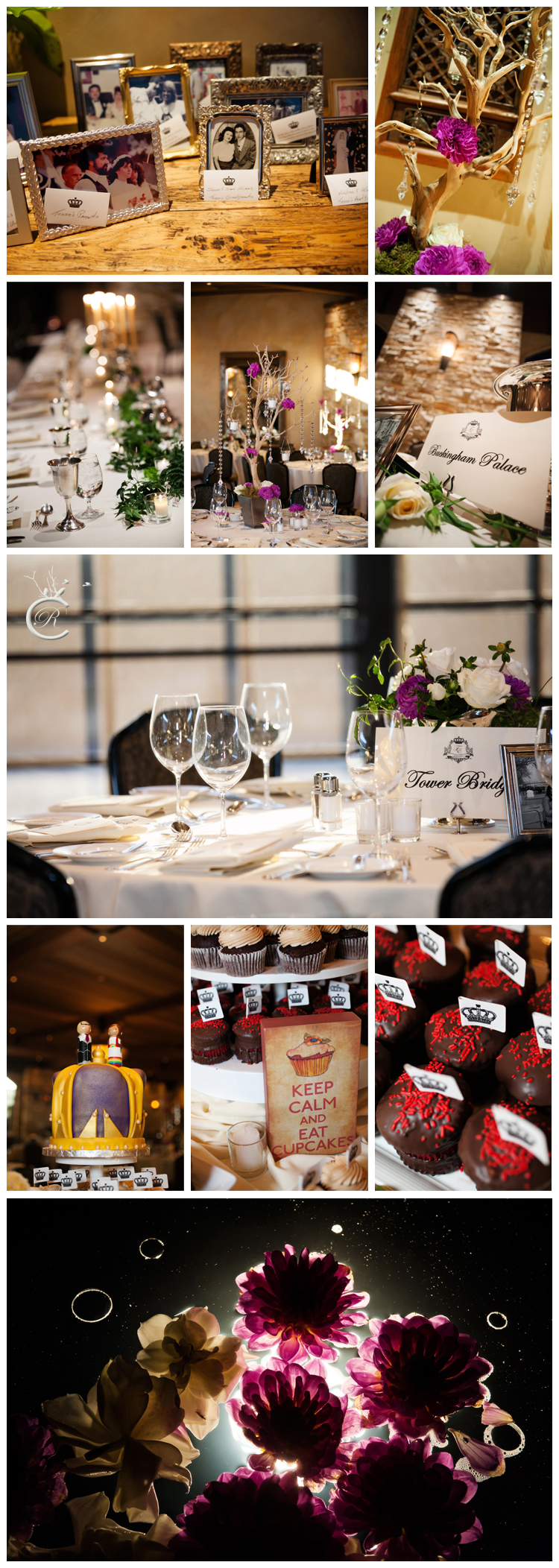 British Invasion wedding theme
