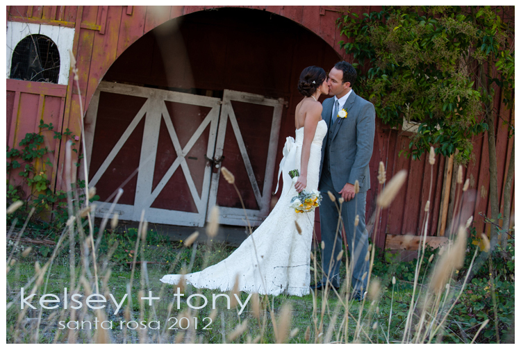 Kelsey and Tony's Wedding in Santa Rosa