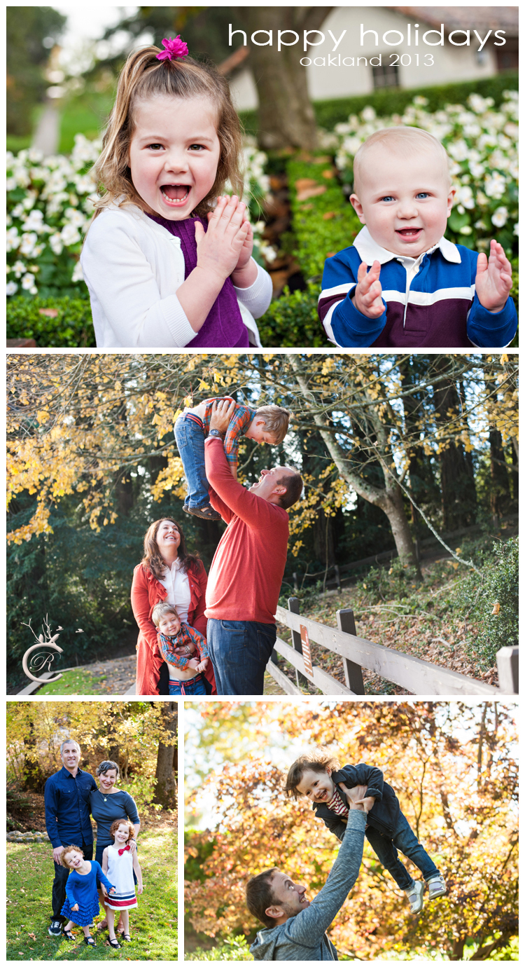 Oakland outdoor family portraits • Carrie Richards Photography
