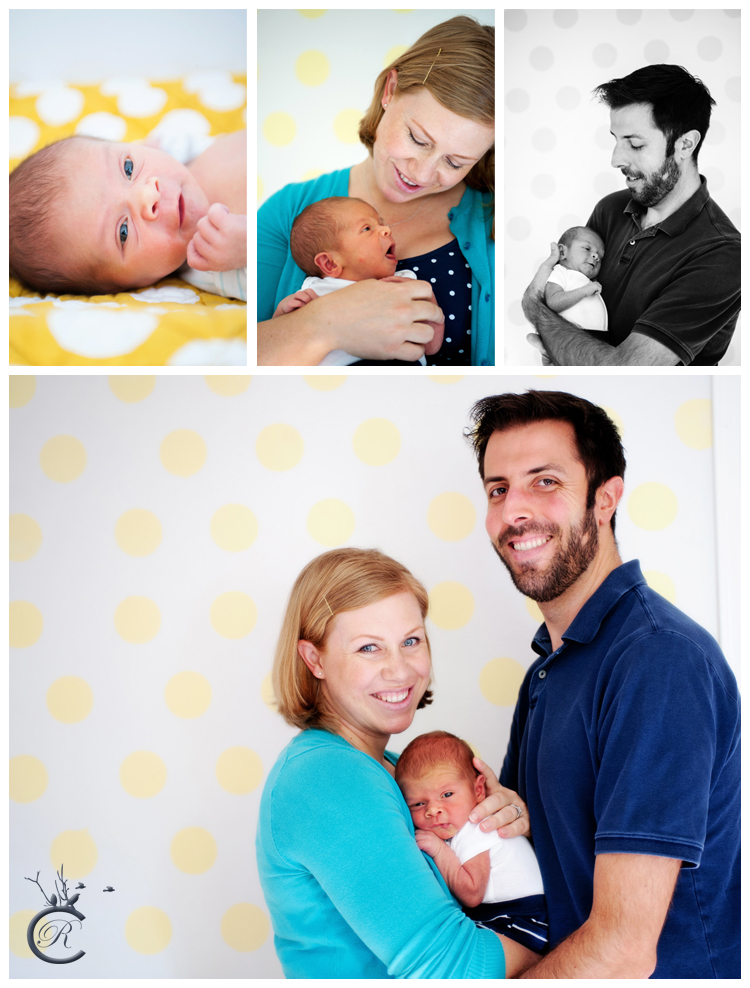 Newborn baby portraits in Oakland