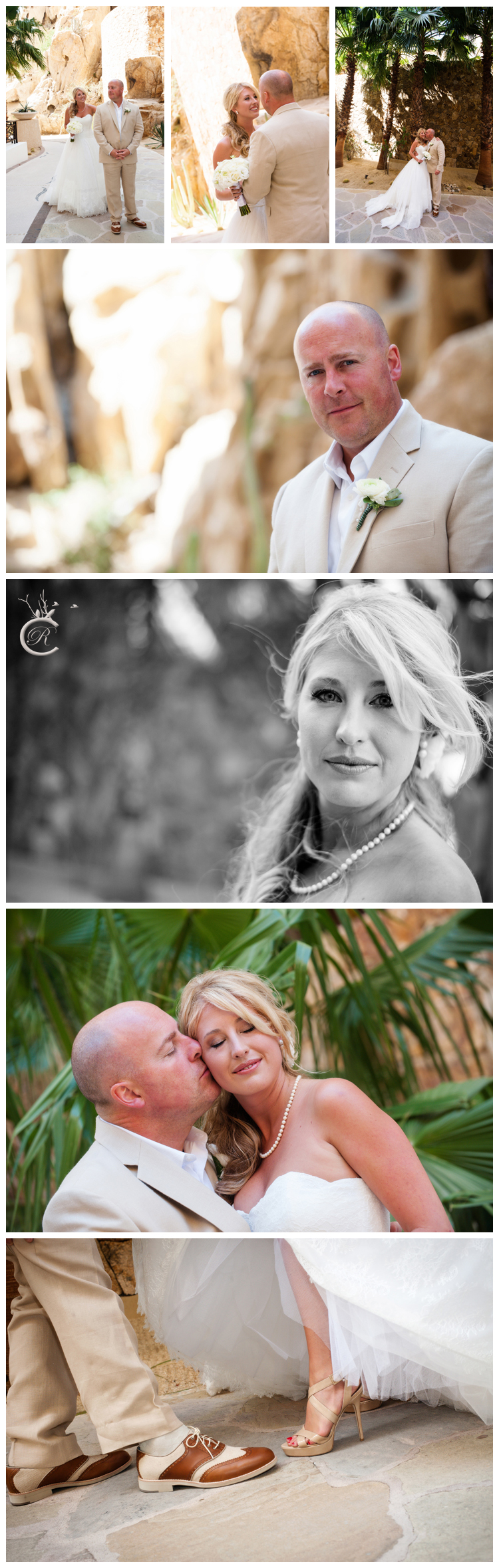 Couple's First Look • Grand Solmar, Cabo San Lucas wedding