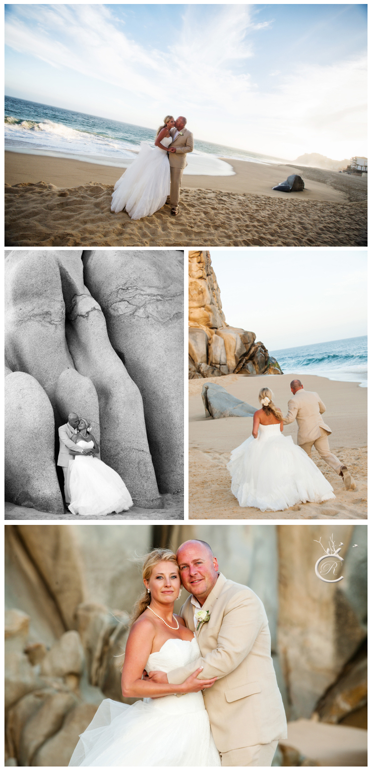 Wedding Portraits in Cabo San Lucas