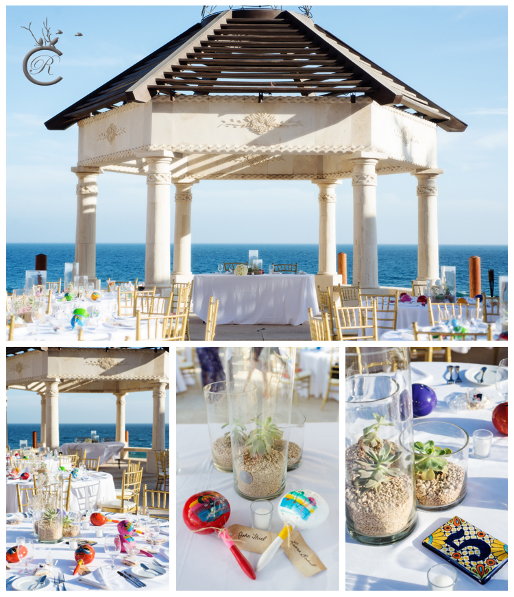 Wedding Reception Details • Grand Solmar, Cabo San Lucas