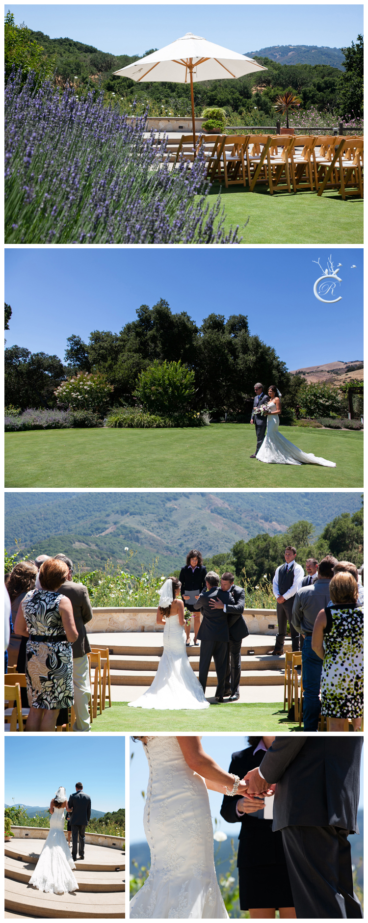 Outdoor Wedding Ceremony at Holman Ranch