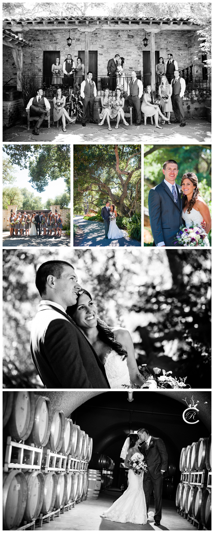 Bridal Party Portraits at Holman Ranch
