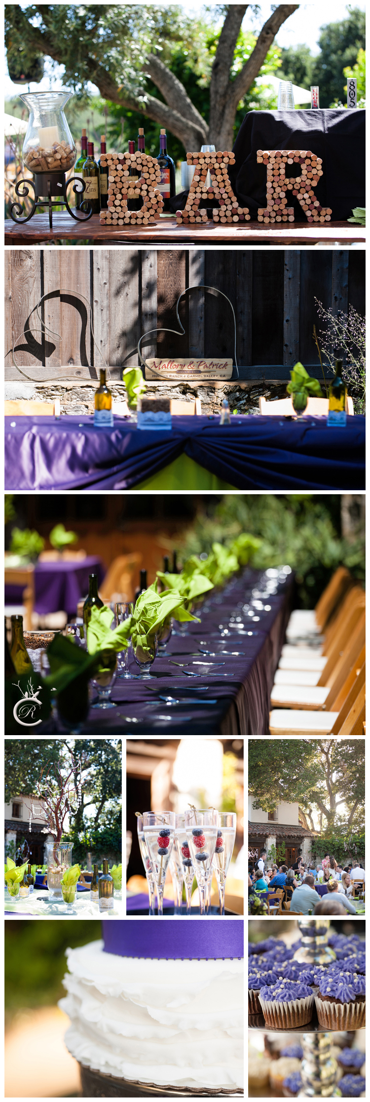 Wedding Details at Holman Ranch Vineyards