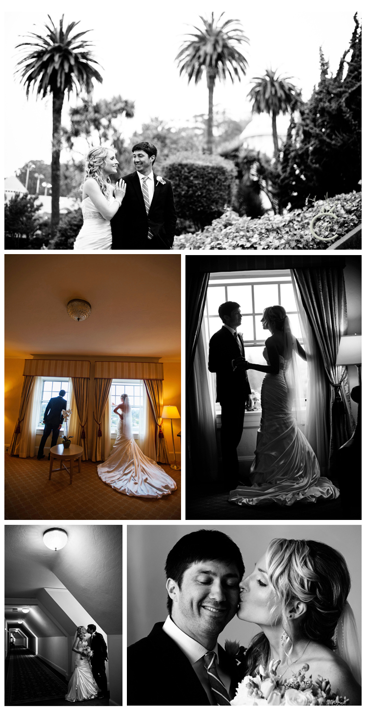 Wedding Photos at the Claremont Hotel & Spa