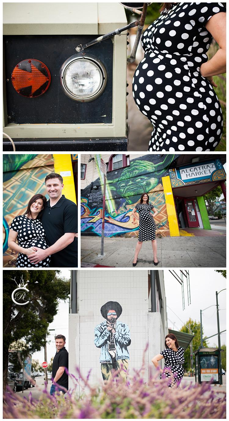 Oakland Maternity Photo Shoot