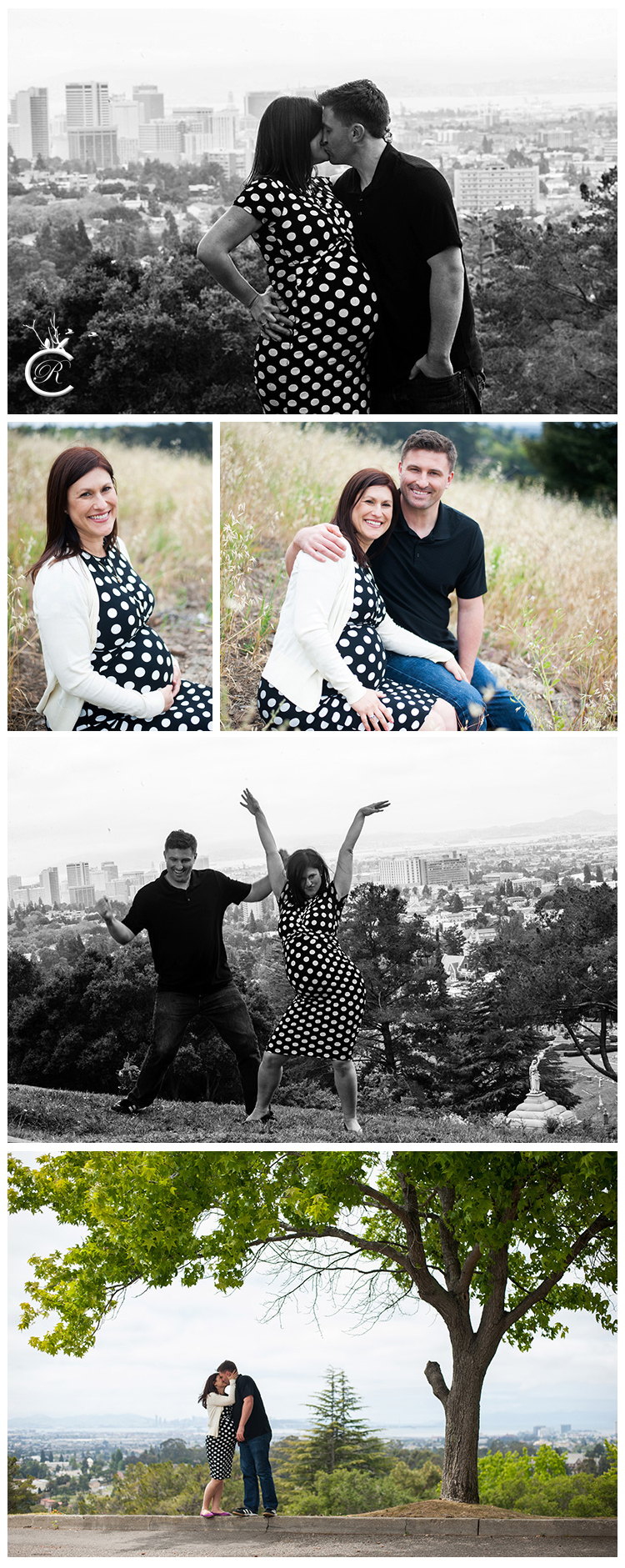 Maternity photography session in Oakland, Ca